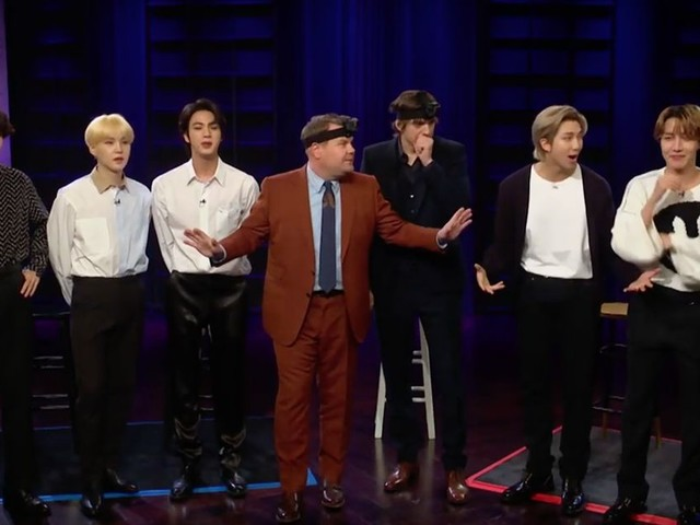 BTS playing hide and seek with James Corden and Ashton Kutcher is super adorable