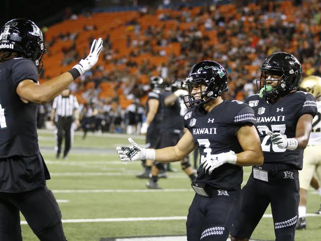 McDonald's 3 TD passes help Hawaii beat Army 52-31