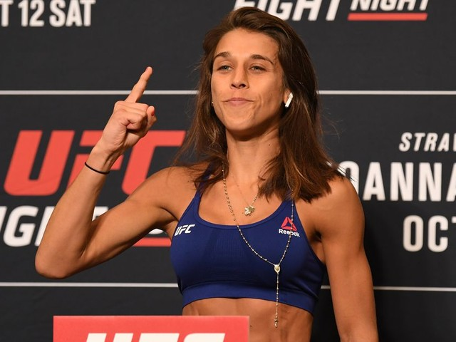 UFC Tampa weigh-in results and video: Joanna makes weight