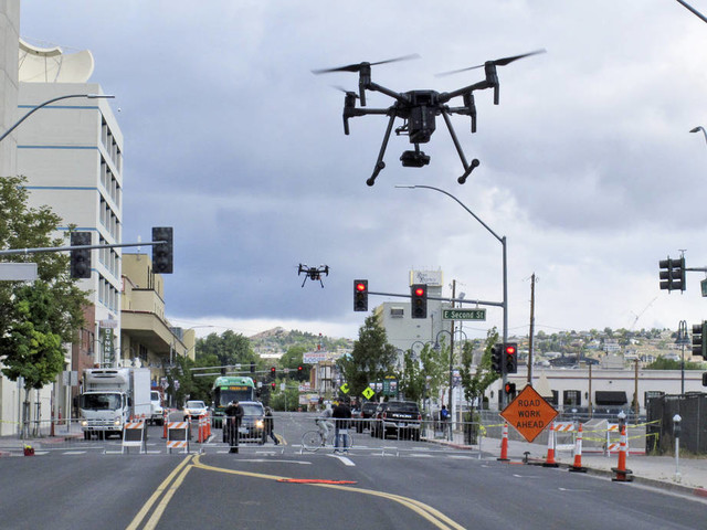 Downtown Reno part of NASA's final testing to manage drones