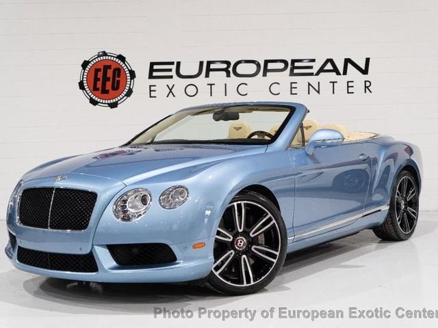 2015 Bentley Continental--GTC 2dr Convertible