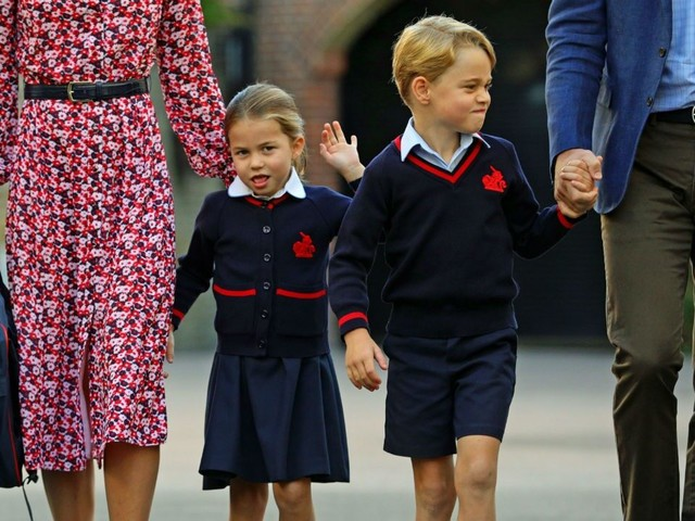 Inside Princess Charlotte's New Life at School With Prince George