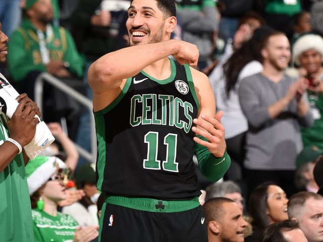 Enes Kanter wants to join WWE after basketball, so we made up a character for him