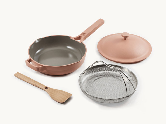 I Tried the Popular Pan That Claims It Can Replace 8 Kitchen Tools