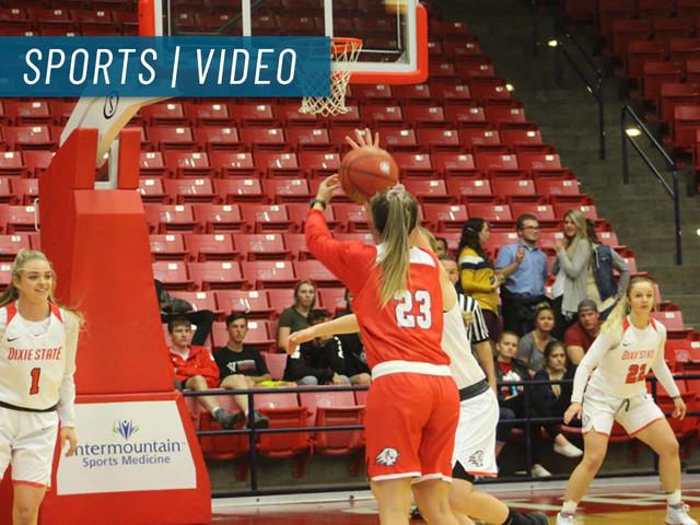 Dixie State women's basketball downs La Sierra 77-59