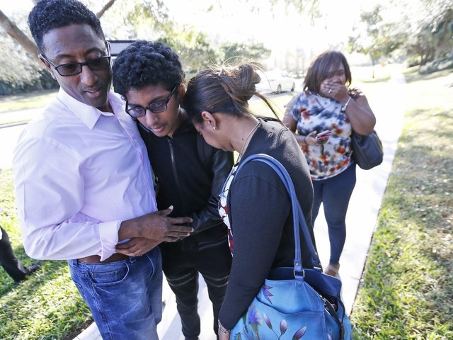 'We've seen the worst of humanity,' Florida school official says as 17 killed in campus shooting