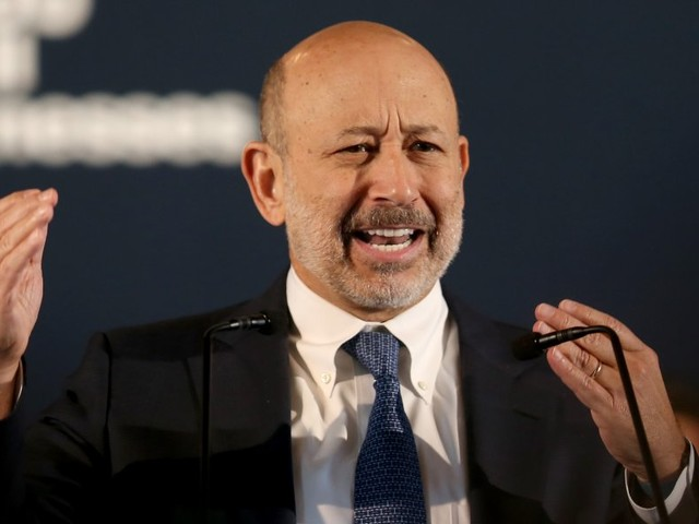 Goldman Sachs CEO Lloyd Blankfein explained why he started antagonizing Trump on Twitter (GS)