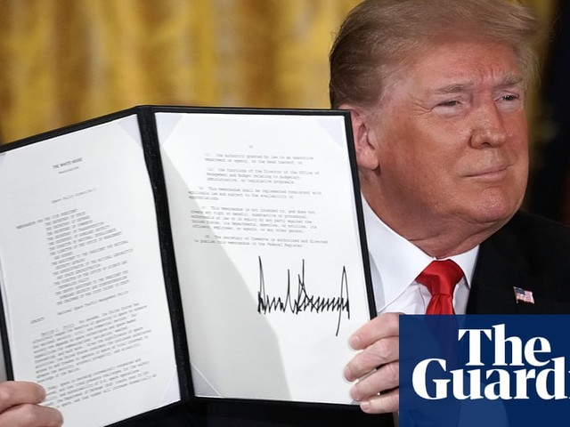 Donald Trump may get his space force – in deal for federal paid parental leave