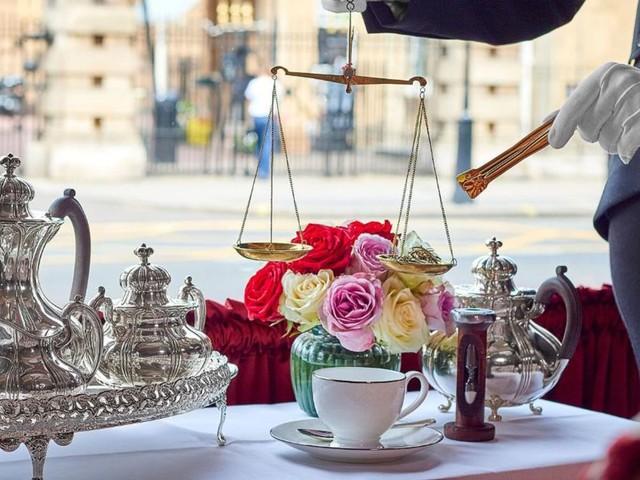 Hotel near Buckingham Palace serves $200 cup of tea