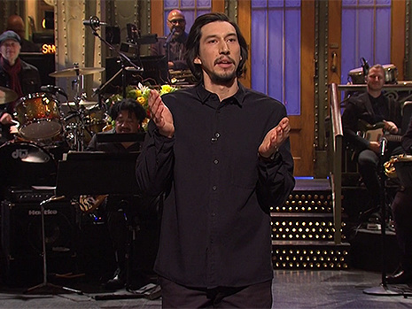 Adam Driver Jokes He 'Basically Kissed Colin Jost' On 'SNL' Because He's In A Movie With Scarlett Johansson