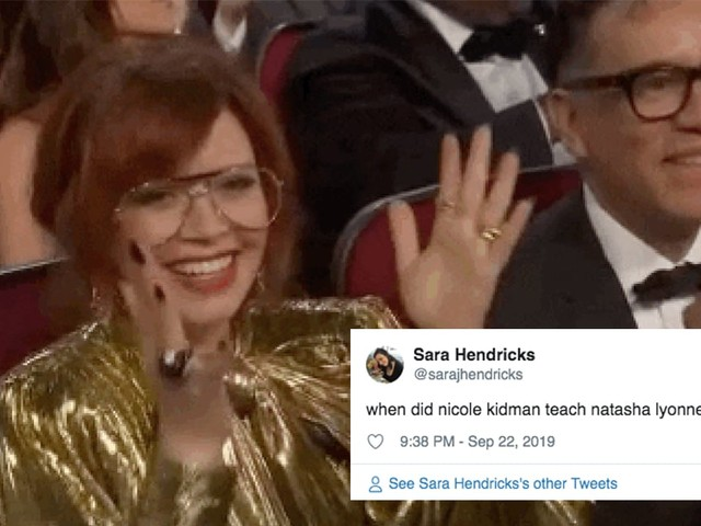 The Internet Is So Incredibly Puzzled by Natasha Lyonne's Unusual Clap at the Emmys