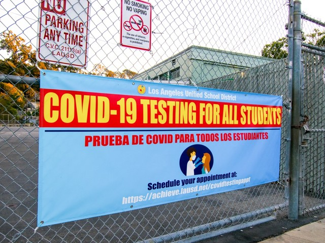 LAUSD's mandatory weekly COVID tests are part of 'Swiss cheese model' as new school term approaches