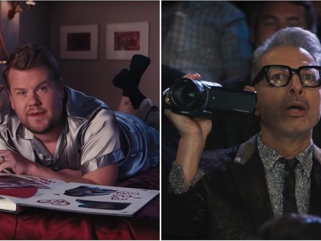 "James Corden Confesses His Love For Jeff Goldblum in Hilarious ""Thank U, Jeff"" Tribute"