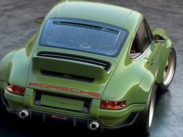Singer And Williams Reveal Their Breathtaking 500HP Porsche 911