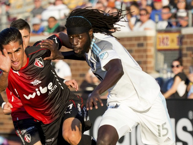 Loons' Ish Jome working hard to learn new position