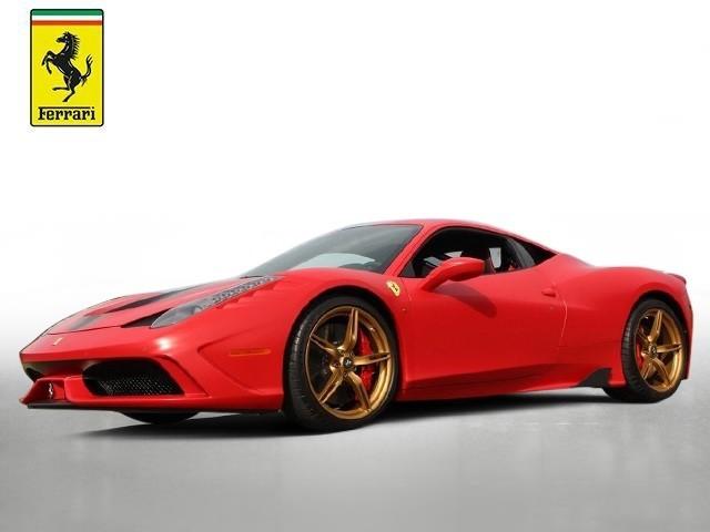 2015 Ferrari 458--Speciale