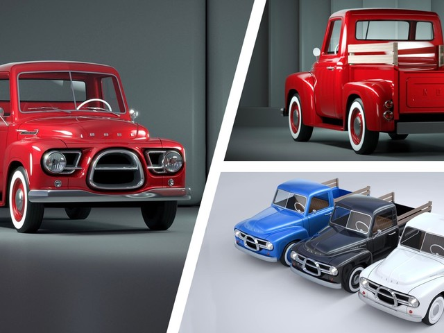 The Nobe 500 Is A Cute Tiny Electric Pickup With A Carbon Chassis And 1950's Looks Coming In 2022
