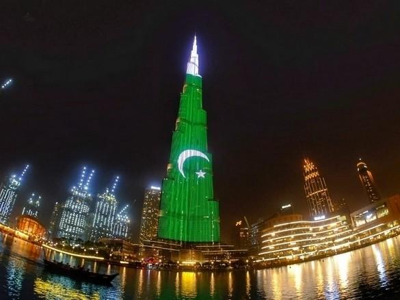 Pakistan flag orientation on Burj Khalifa angers expats