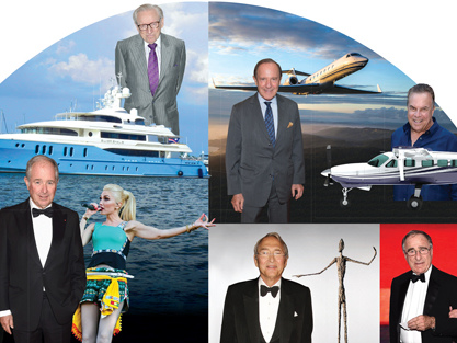 Titans and their toys: How real estate's A-listers spend their wealth