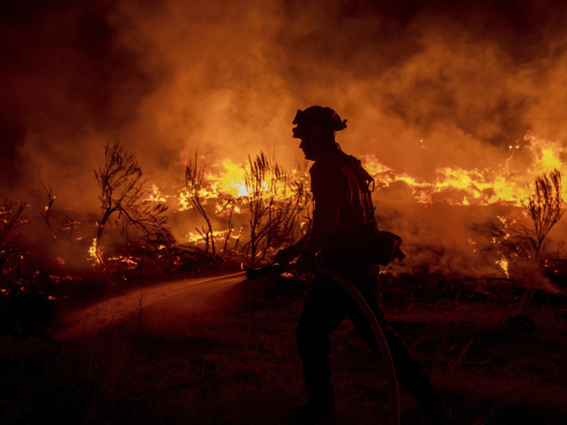 'There's Literally A Dark Cloud Over Us': Firefighter Reflects On Dixie Fire After Losing His Town