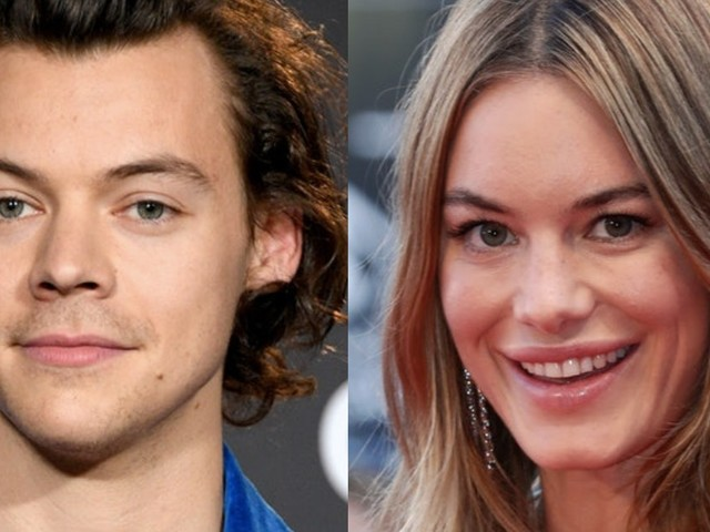 Harry Styles & Camille Rowe's Relationship Timeline Is Mysterious