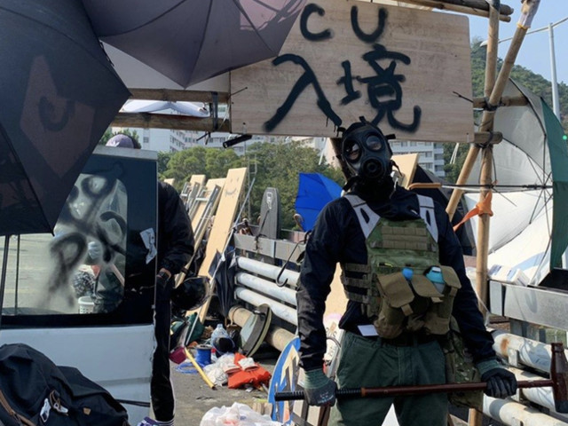 """I'll Die For Hong Kong"": Students Transform Campuses Into Armories As Protests Rage For 4th Straight Day"