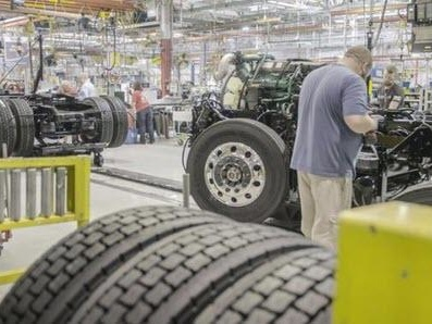 Truck Manufacturing Orders Plunge To Decade Low In 2019