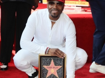 LEGENDS ONLY: Teddy Riley Receives Star On The Hollywood Walk Of Fame