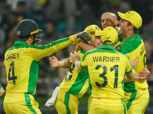 1st T20I: Agar's Hat-Trick Helps Australia Beat South Africa By 107 Runs