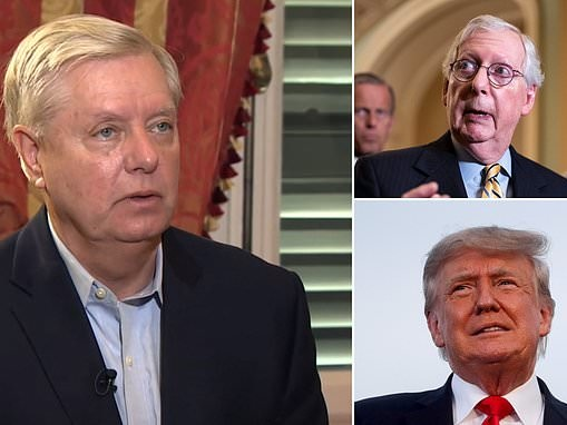 Graham tries to help Trump and McConnell bury the hatchet