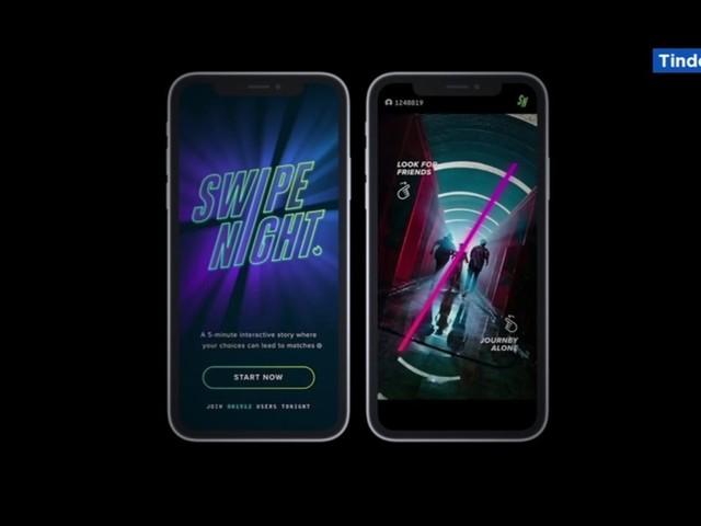 Tinder launching original series 'Swipe Night' in October