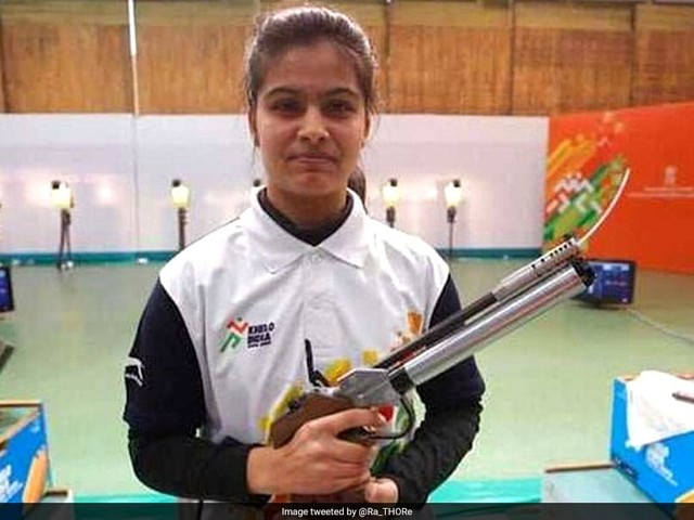ISSF World Cup Final: Bhaker, Sarnobat Fail To Qualify For Finals