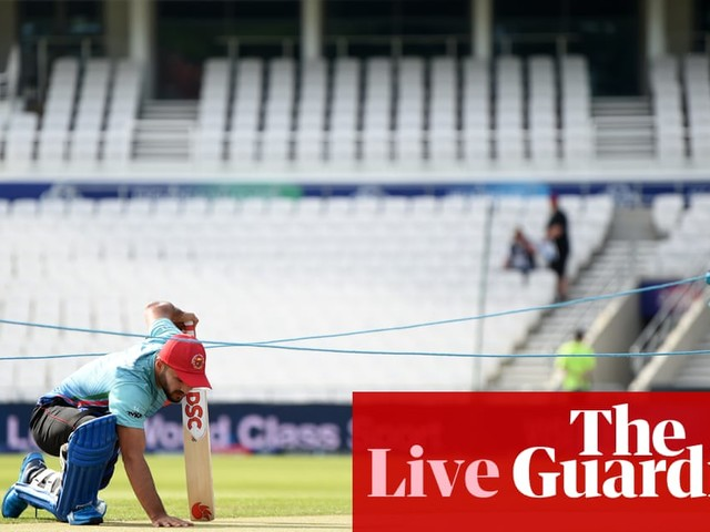 Afghanistan v West Indies: Cricket World Cup 2019 – live!