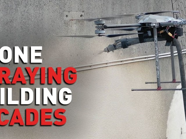 In the age of drones, these architects say it's time to ditch scaffolding