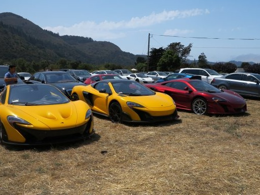 Not the Main Event: The Quail Parking Lot's Fabulous Cars