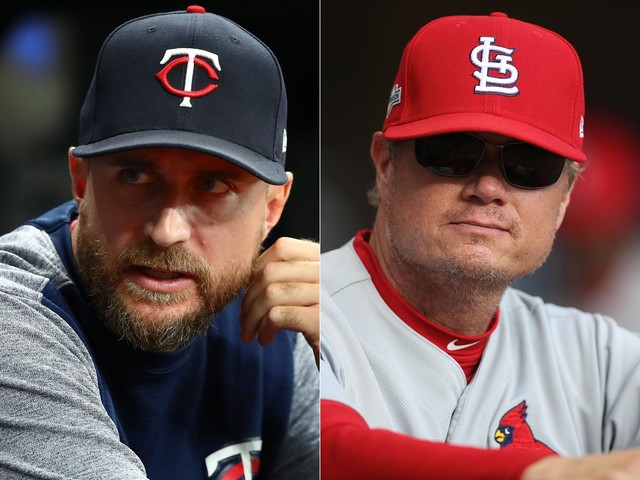 Twins' Rocco Baldelli, Cardinals' Mike Shildt win MLB Manager of the Year awards