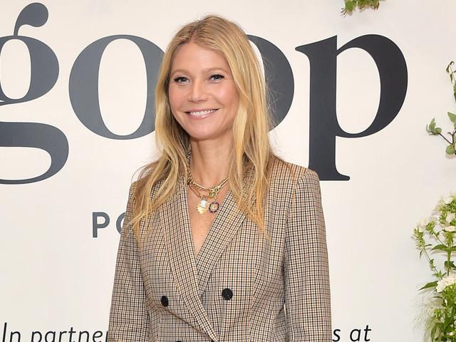 Gwyneth Paltrow's Banana Republic blazer is the chicest fall wardrobe essential