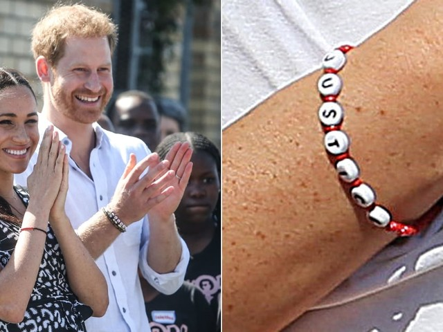 Meghan Markle and Prince Harry Wore Matching Bracelets - Here's Where You Can Buy Them