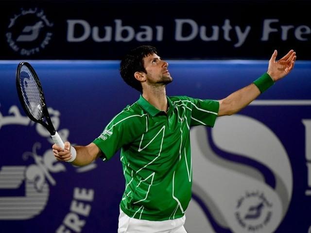 Novak Djokovic Reaches Dubai Championships Semi-Finals