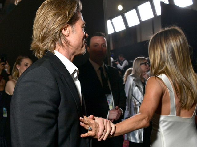 The Internet Can't Stop Talking About This One Photo of Jennifer Aniston & Brad Pitt