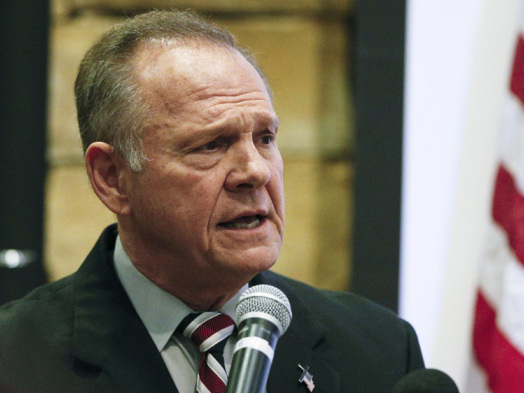 New Accuser Says Roy Moore Sexually Assaulted Her When She Was 16