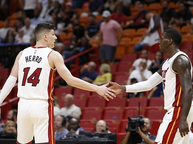 WATCH: A Good Gesture from Tyler Herro makes Fan go Crazy after the Hawks vs Heat Game
