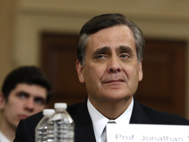 Jonathan Turley, GOP witness, says he's received threats after impeachment testimony