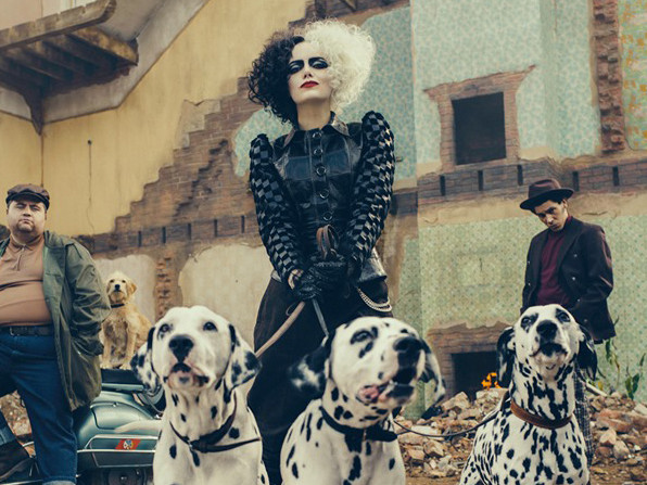 Emma Stone as Cruella de Vil - First Look Photo from D23!