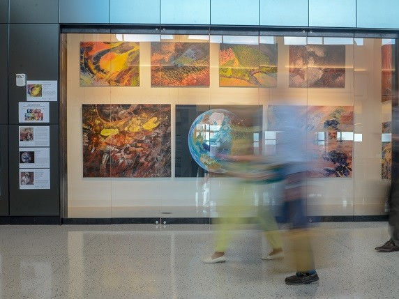 Local Artists' Works on Display at Airport Until End of June