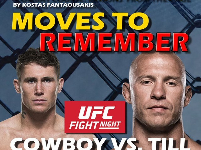 UFC Gdansk: Cerrone vs. Till Breakdown: Moves to Remember