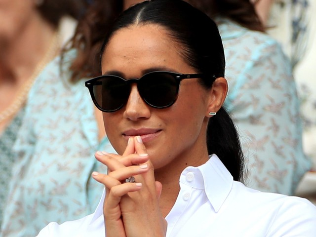 Meghan Markle's Wimbledon Hair Is A Look She Rarely Wears