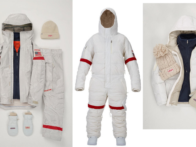 Burton's astronaut-inspired 2018 Olympic snowboarding uniforms make space the final fashion frontier