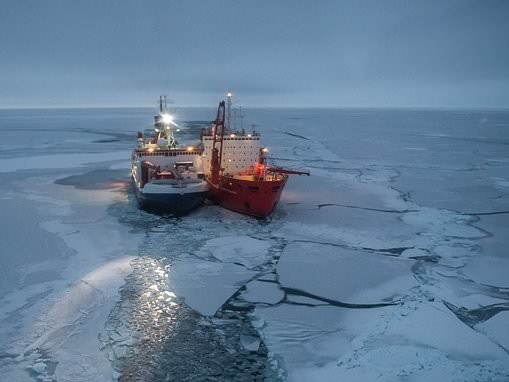 100 scientists stranded on Arctic ship during COVID-19 pandemic after countries shut down borders