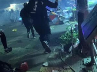 The Latest: Hong Kong police enter campus held by protesters